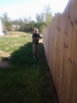 Fence cleaning and sealing MCclainsville NC