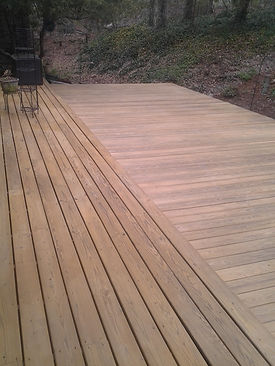 Deck staining Haw River NC