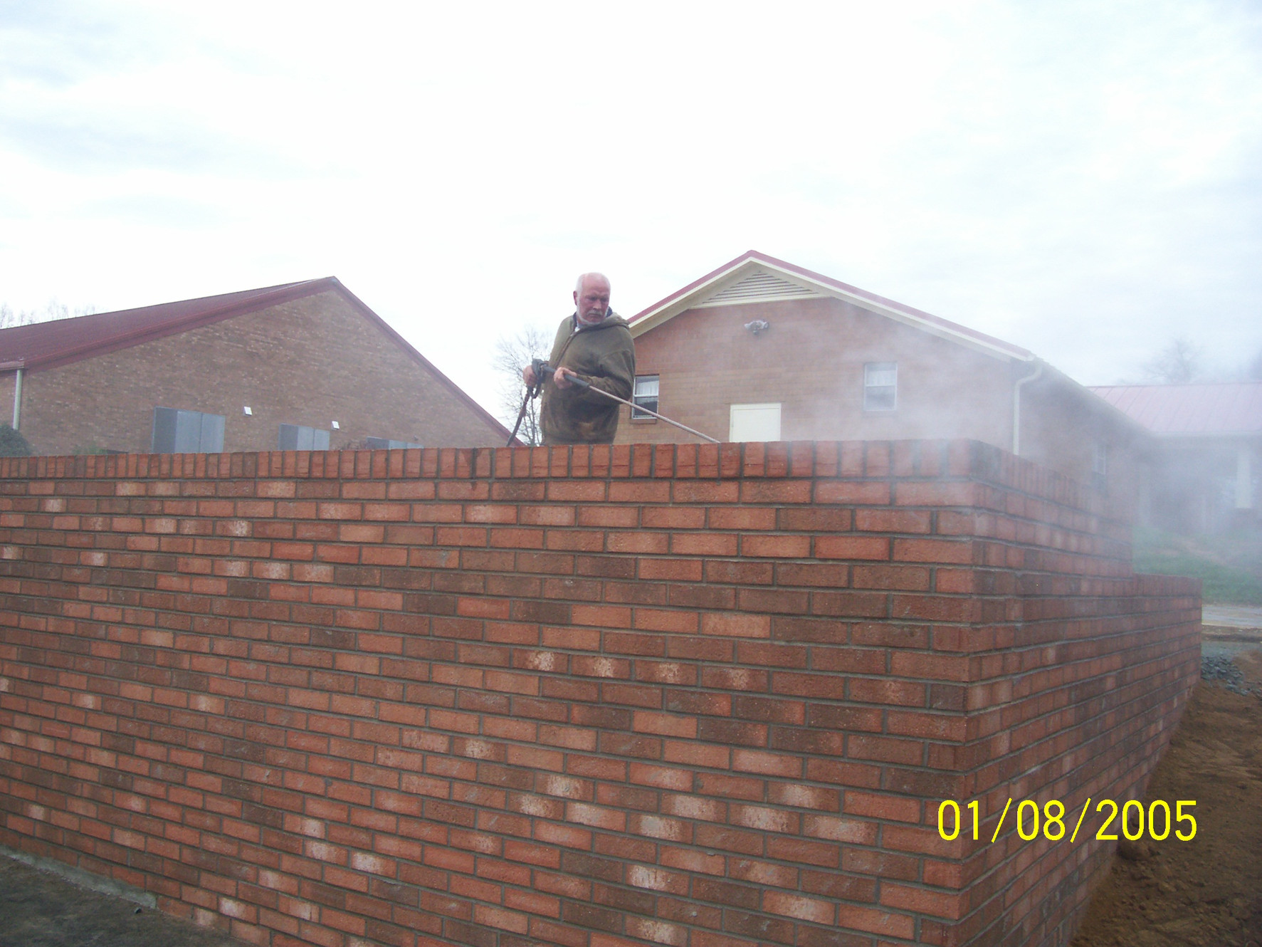 Brooks pressure washing Graham NC serving Burlington and surrounding