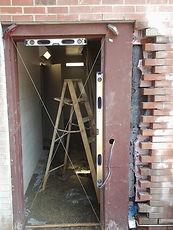 Brooks Pressure Washing masonry repair, fix door Yanceyville Jail