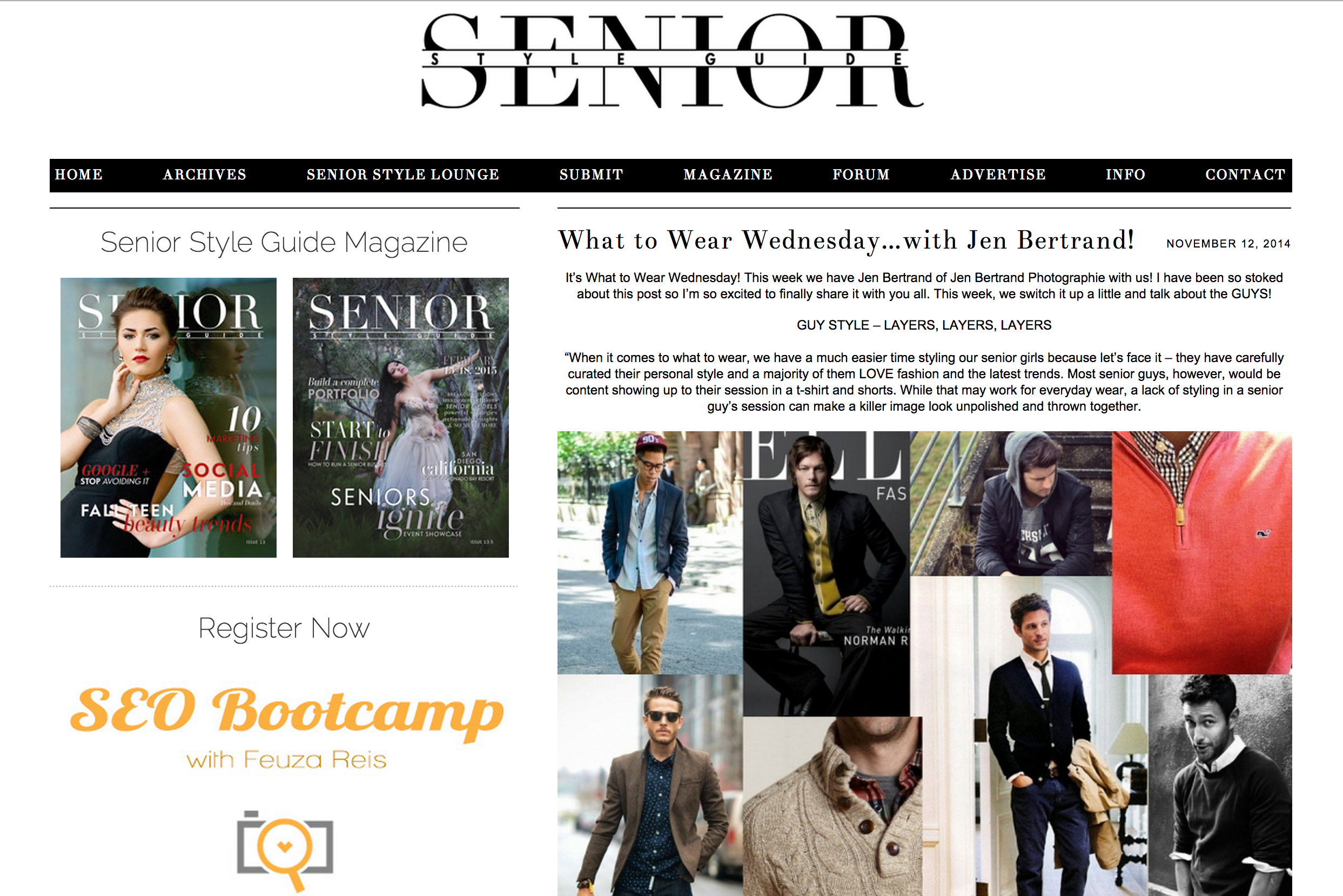 Senior Style Guide Feature Jen Bertr