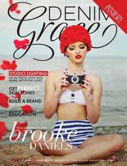 Denim and Grace Magazine Jen Bertran
