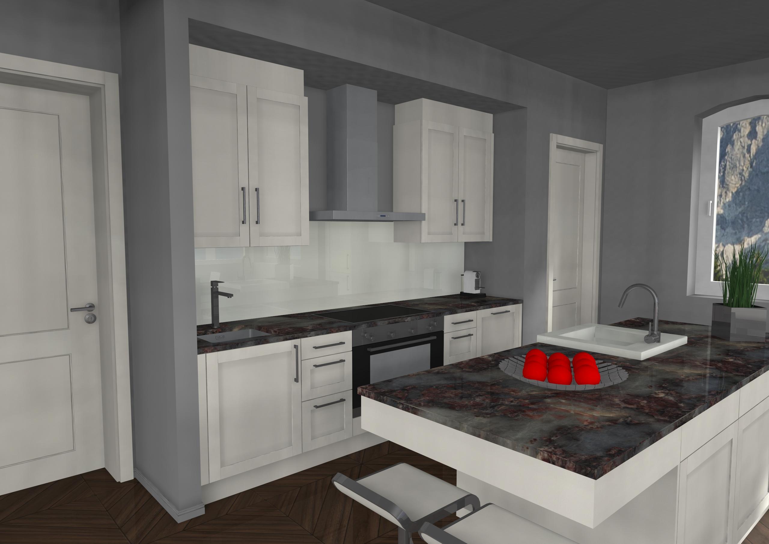 Küche Landhaus Stil