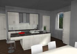 Küche Landhaus Stil,