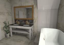 Badmöbel, Waschtisch, Landhaus Stil