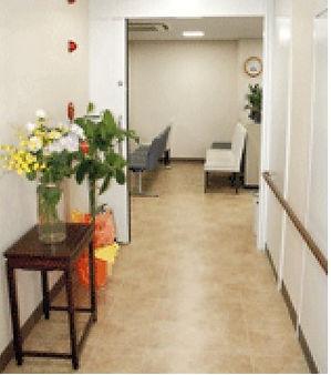 診察室より待合室
