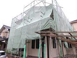 戸建住宅の外壁塗装工事