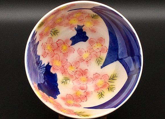 エア 垣根桜 飯碗