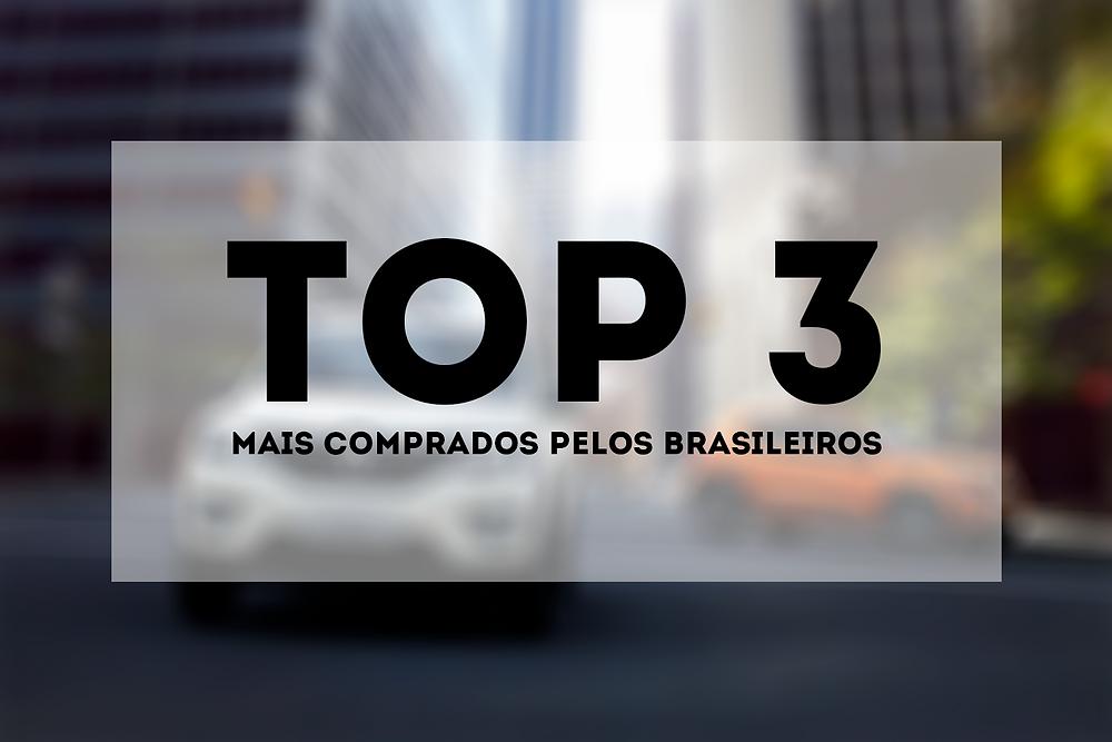Top 3 Carros Mais Comprados Pelos Brasileiros