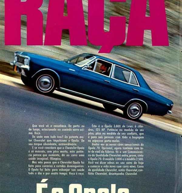 propaganda opala chevrolet anos 70