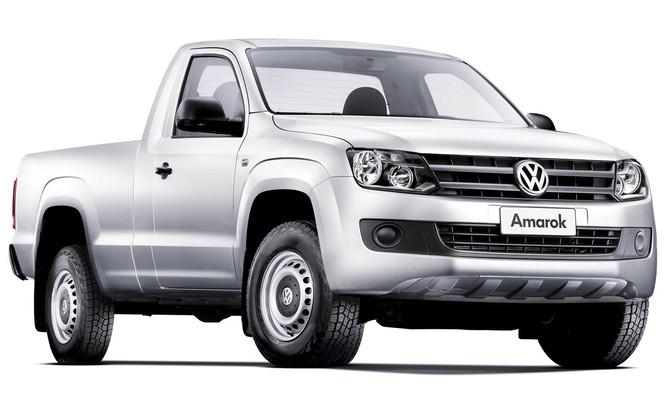 Volkswagen fará recall da linha Amarok 2015 por risco de falha nos freios