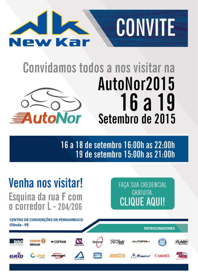 Venha nos visitar - AutoNor 2015