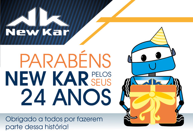 Feliz Aniversário New Kar!