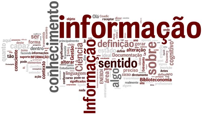 Informação é tudo!