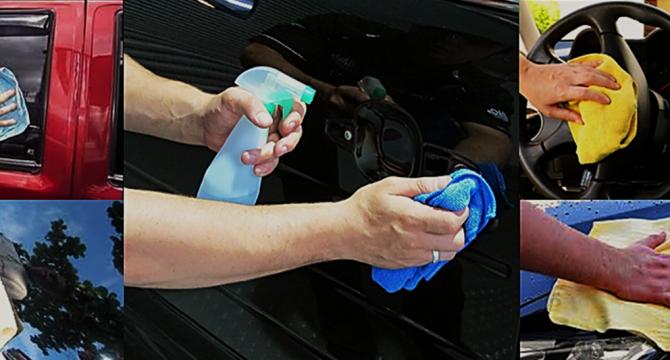 Como limpar corretamente a parte interna do seu carro