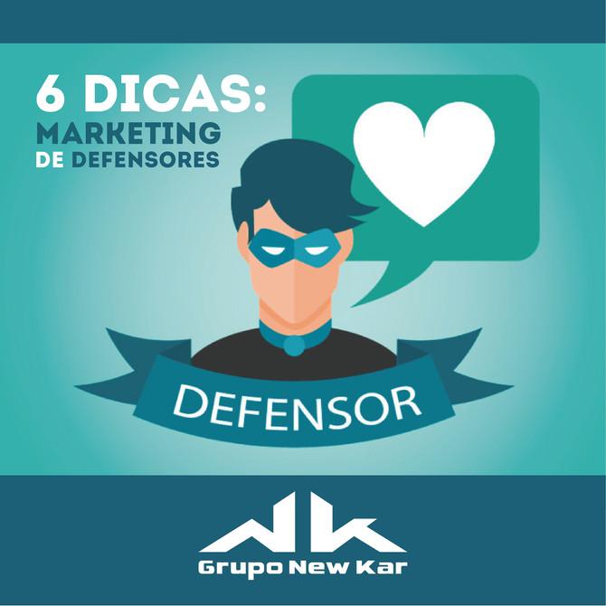 6 dicas para criar sua estratégia de marketing de defensores