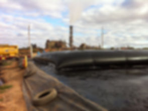 Olympic Dam - Envitube Laydown w. Mining