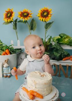 Bristol cake smash photography