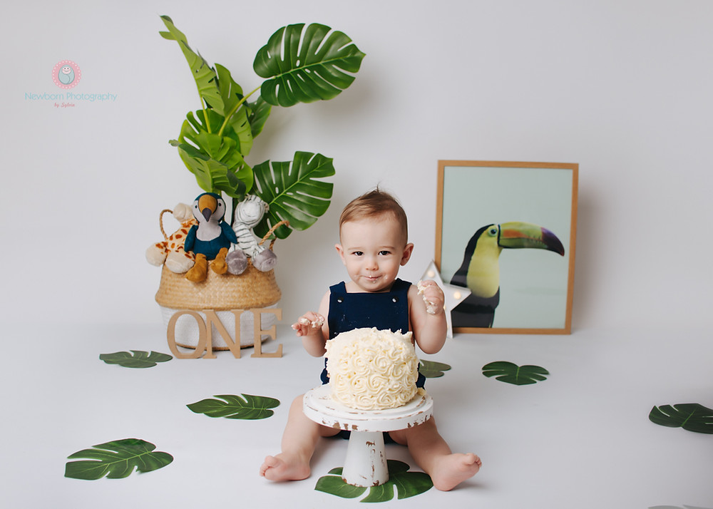 Bristol Cake Smash Photo Shoot