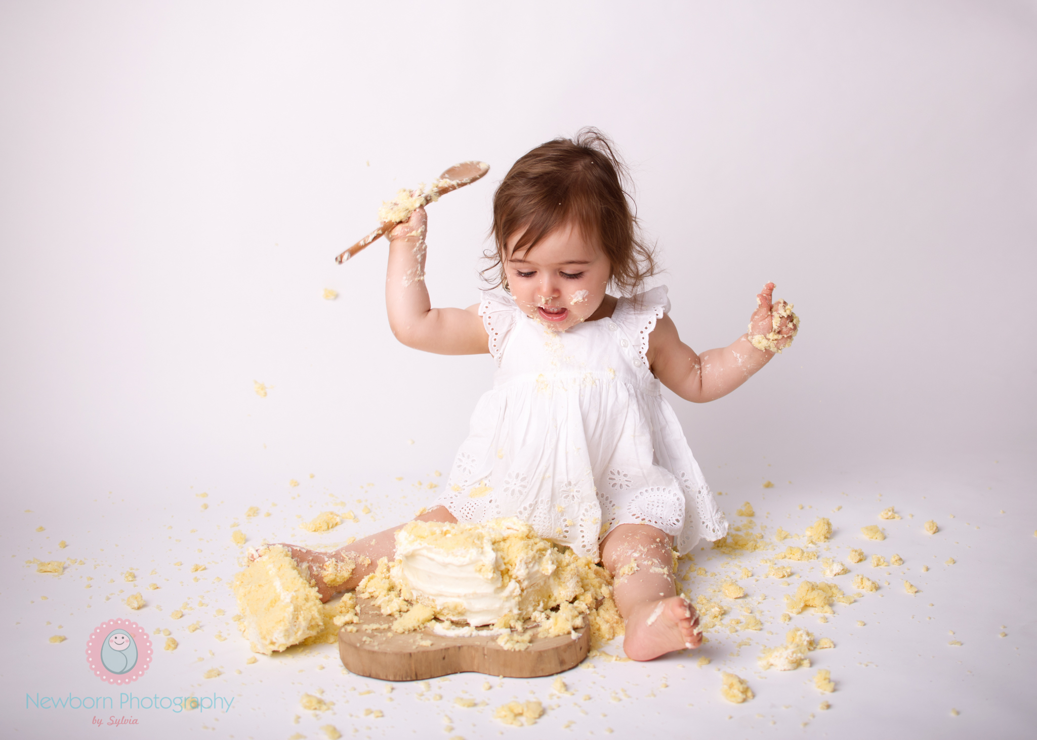 Bristol cake smash photography