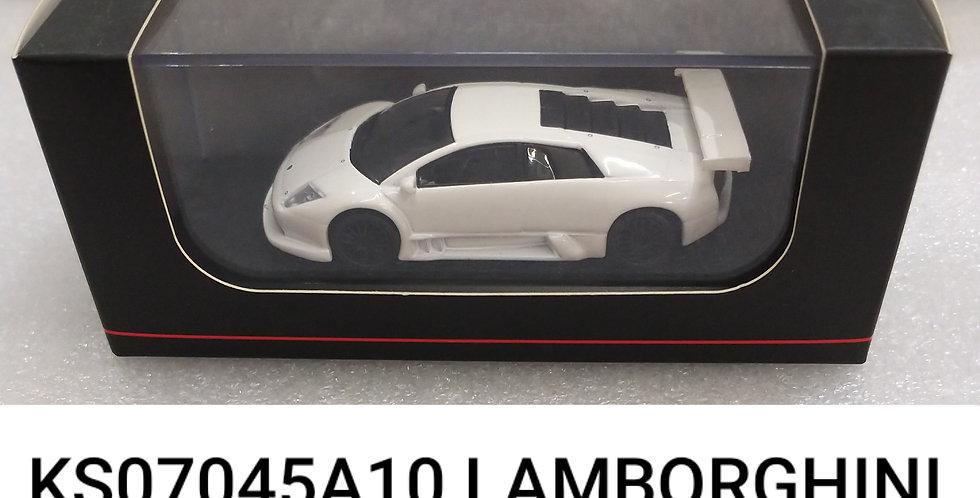 KS07045A10 LAMBORGHINI Murcielago Rare R GT white 1/64
