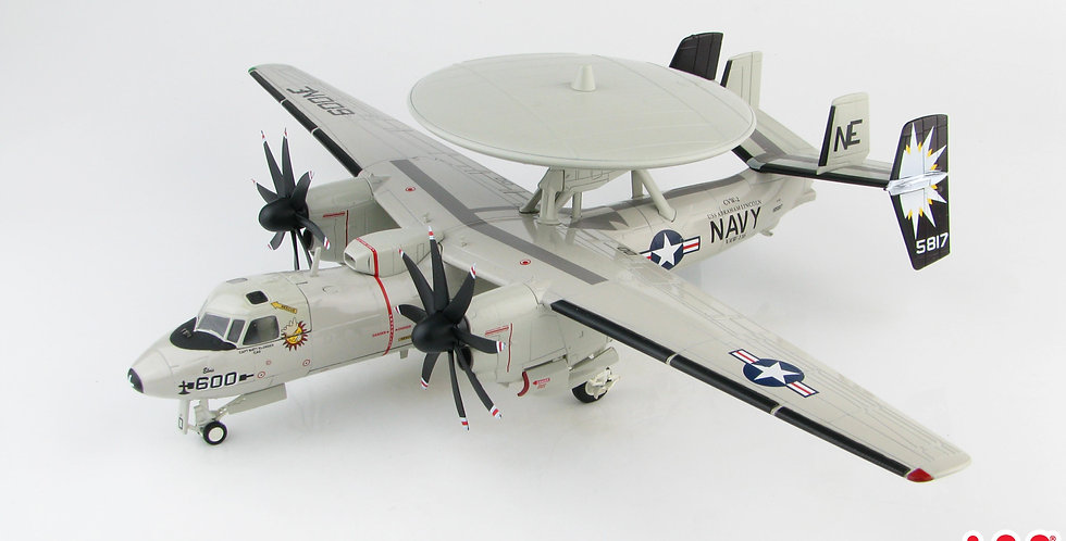 "HA4812 E-2C HAWKEYE ""ELVIS"" VAW-116 SUN KINGS 2007"