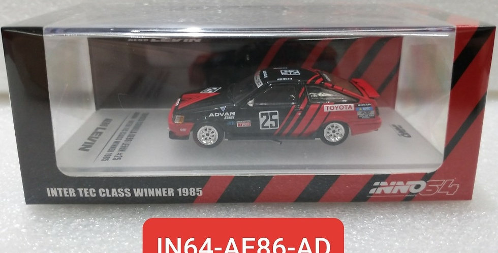 IN64 AE86 AD TOYOTA AE86 SPRINTER TRUENO MODEL 1/64