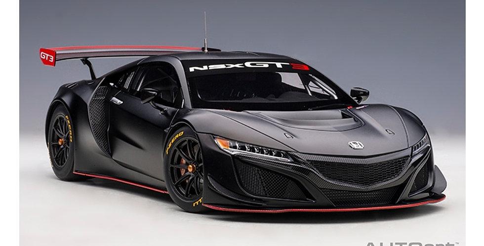 HONDA NSX GT3 2018 MATT BLACK