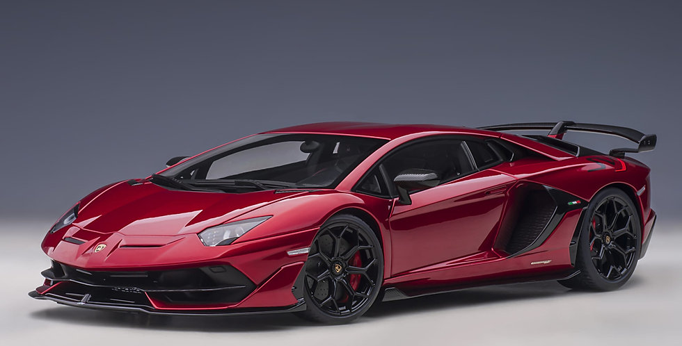 AA79177 Lamborghini Aventador SVJ (Rosso Efesto)
