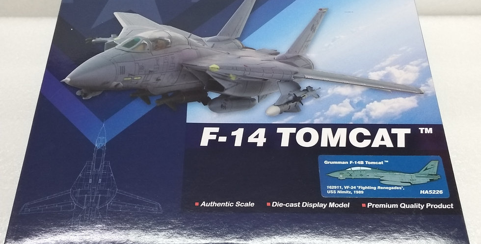 """HA5226 Grumman F-14B Tomcat 162911, VF-24 """"Fighting Renegades"""", USS Nimitz, 1989"""