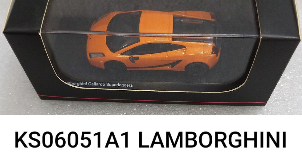 KS06051A1 LAMBORGHINI GALLARDO SUPERLEGGERIA ORANGE 1/64