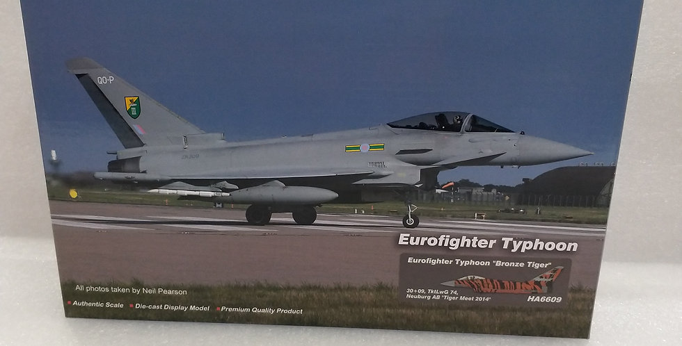 "HA6609 Eurofighter Typhoon ""Bronze Tiger"" 30+09, TktLwG 74, Neuburg AB"