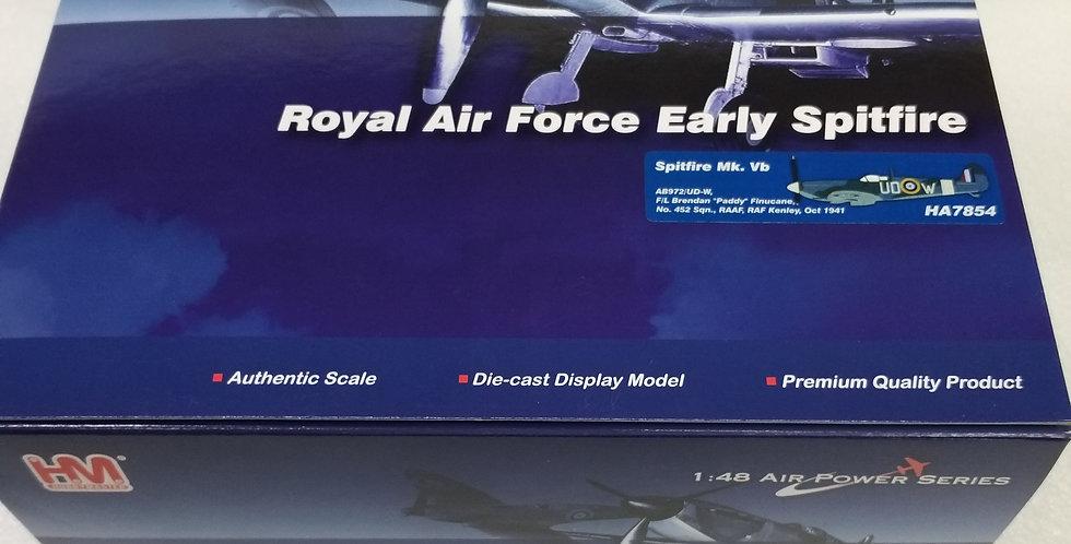"HA7854 Spitfire Mk. Vb AB972/UD-W F/L Brendan ""Paddy"" Finucane No. 452 Sqn., RAA"