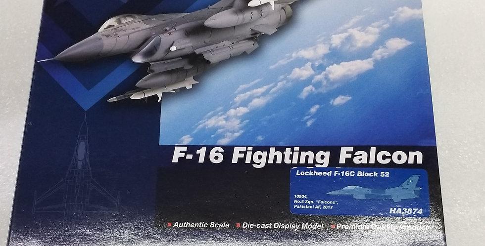 """HA3874 Lockheed F-16C Block 52 10904, No.5 Sqn. """"Falcons"""", Pakistan AF, 2017"""