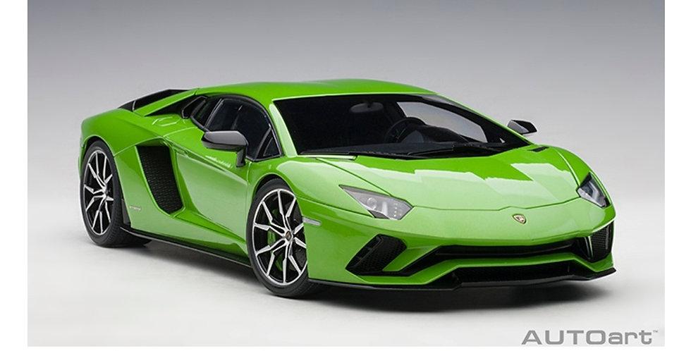 AUTOART LAMBORGHINI AVENTADOR S PEARL GREEN MODEL