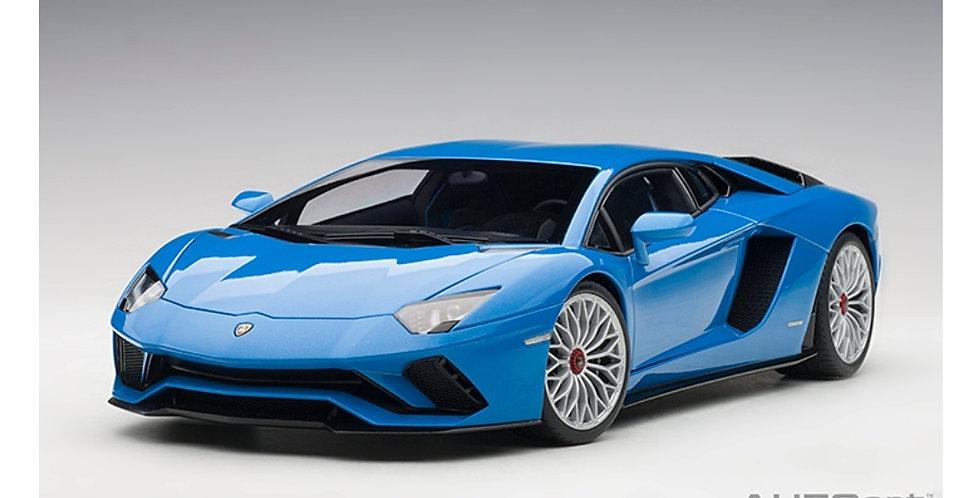 AUTOART LAMBORGHINI AVENTADOR S PEARL BLUE MODEL
