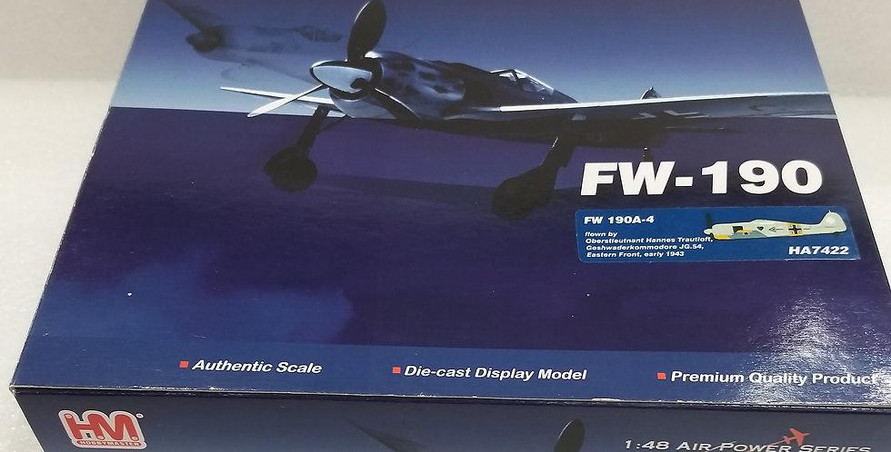 """HA7422 FW 190A-4 Oberstleutnant Hannes Trautloft"""", Geshwaderkommodore JG.54,"""
