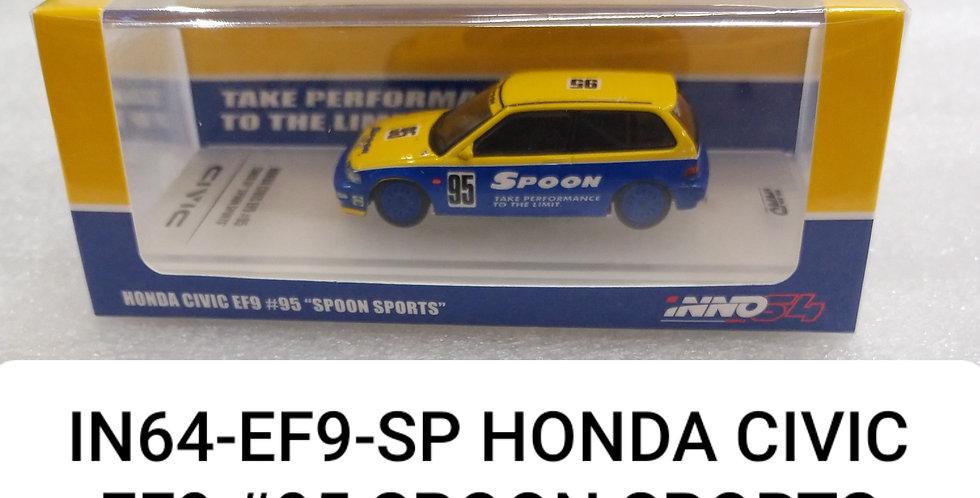 IN64EF9 HONDA CIVIC #95 SPOON 1/64