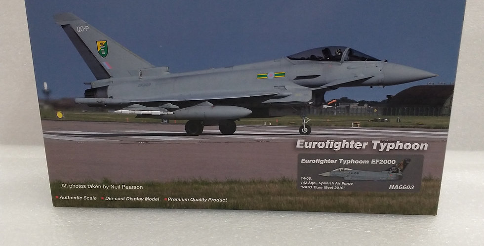 HA6603 Eurofighter Typhoon EF2000 14-06, 142 Sqn., Spanish Air Force