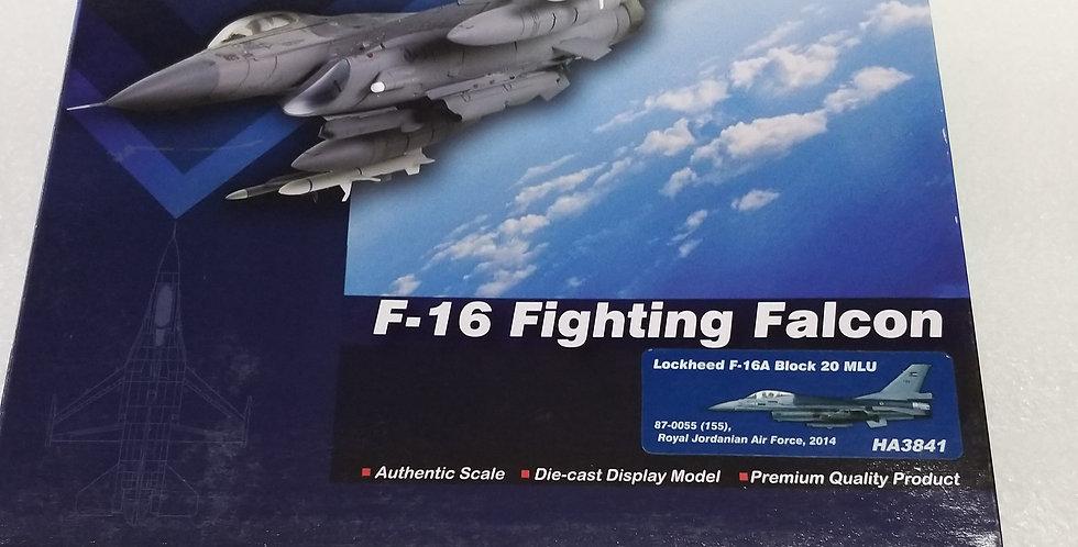HA3841 Lockheed F-16A Block 20 MLU 87-0055 (155) Royal Jordanian Air Force, 2014