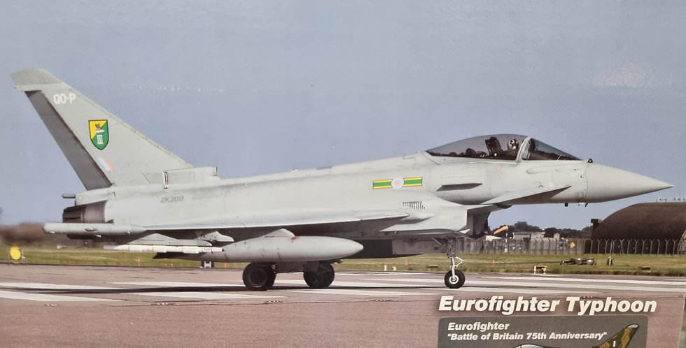 "HA6606 Eurofighter ""Battle of Britain 75th Anniversary"" ZK349, RAF, 2015"