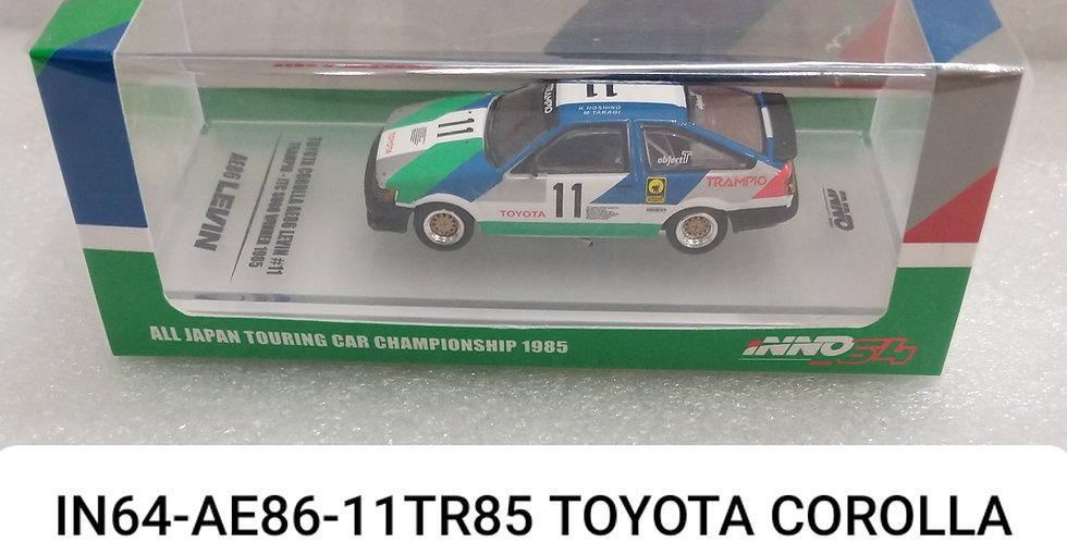 IN64-AE86 11TR85 TOYOTA COLLORA LEVIN JTC WINNER 1985