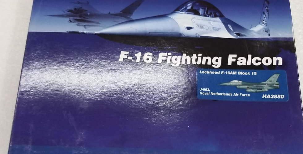 HA3850 Lockheed F-16AM Block 15 J-063, Royal Netherlands Air Force