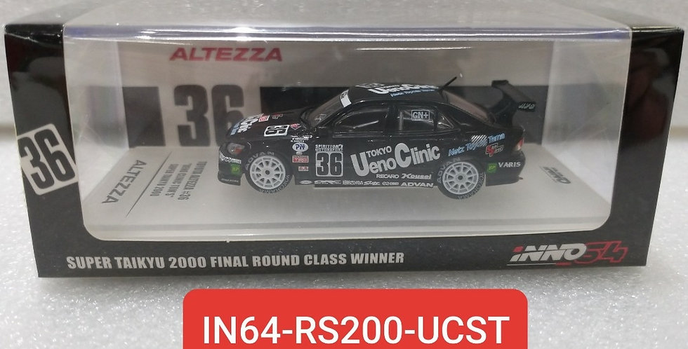 IN64 RS200 UCST SUPER TAIKYU 2000 FINAL ROUND WINNER 1/64 INNO MODEL