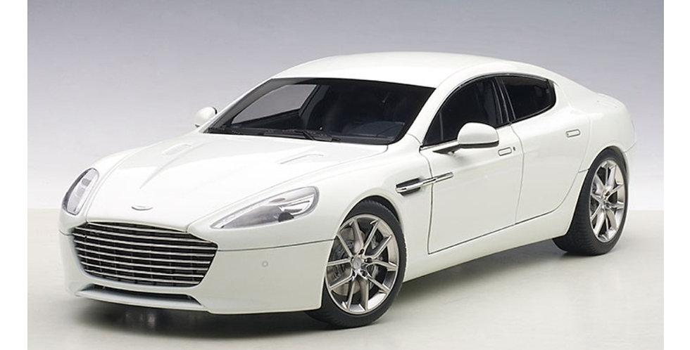 Aston Martin Rapide S 2005 Stratus White Die Cast Model Autoart