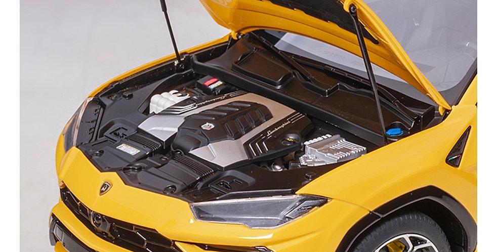 AA79163 LAMBORGHINI URUS SOLID YELLOW LIMITED WITH FULL DETAIL