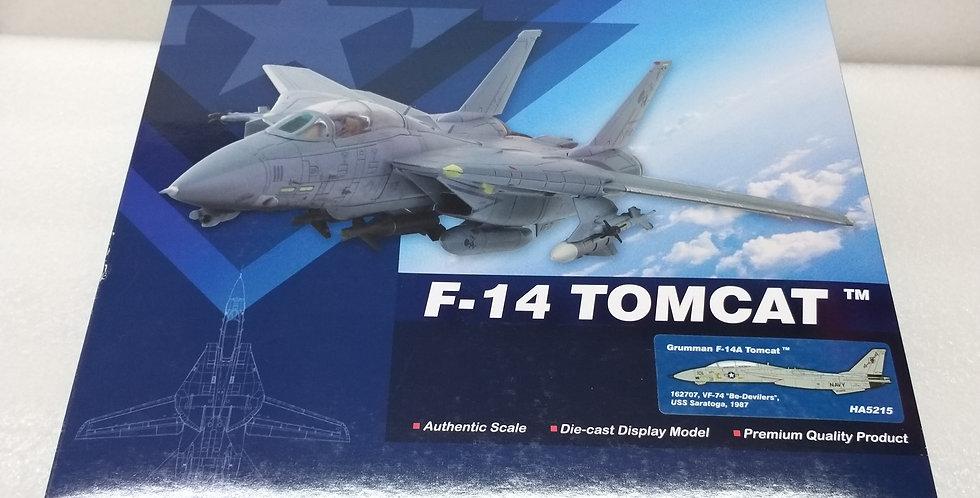 """HA5215 Grumman F-14A Tomcat 162707, VF-74 """"Be-Devilers"""", USS Saratoga, 1987"""