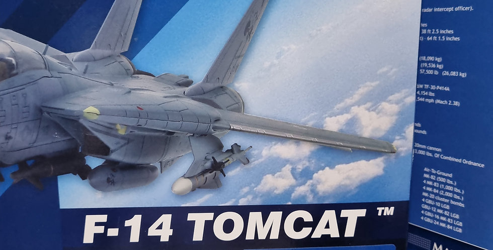 "HA5206 Grumman F-14A Tomcat BuNo 159437, VF-32, Gulf of Sidra Incident, 1989 ""M"