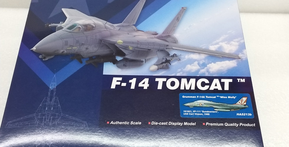 """HA5213B Grumman F-14A Tomcat """"Miss Molly"""" VF-111 """"Sundowners"""", USS Carl Vinson"""