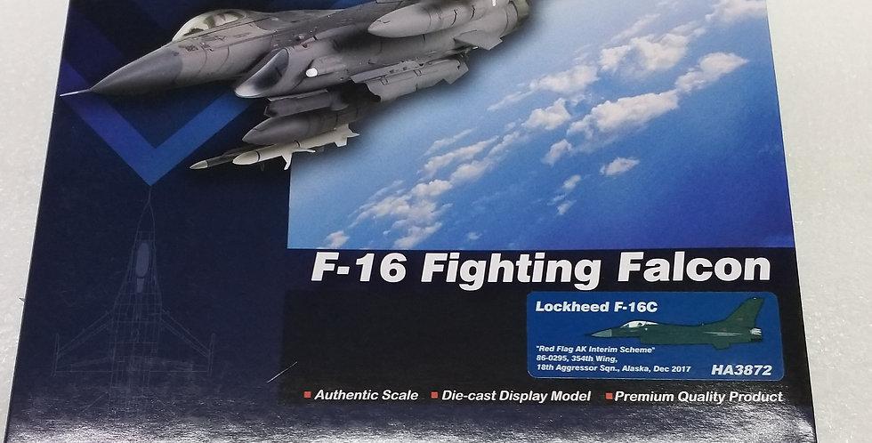 """HA3872 Lockheed F-16C """"Red Flag AK Interim Scheme"""" 86-0295, 354th Wing, 18th Agg"""